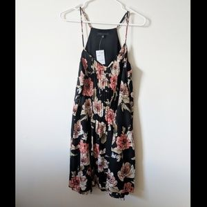 SANCTUARY boho floral strapy dress SIze large NWT